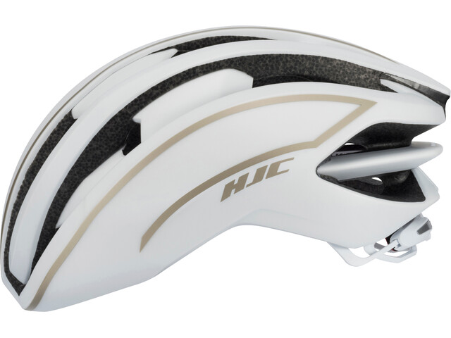 HJC IBEX Road Helmet matt white / gold